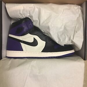 reputable site 20c91 3c2be Air Jordan 1 court purple