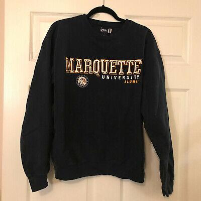 'MARQUETTE UNIVERSITY ALUMNI' Sweatshirt, Size Medium Marquette University Alumni