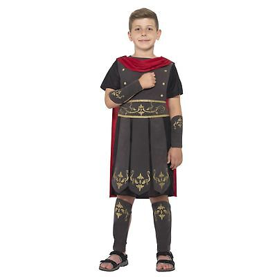 Boys Roman Solider Warrior Rome Gladiator Book Week Fancy Dress Costume Hero](Roman Solider Costume)