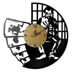 NEW  Vinyl Record Wall Clock Batman: Joker #4, modern decorative art ~ 12
