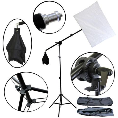 FREESH Photo Studio Video Lighting Overhead Boom Photography Photo Light Stand