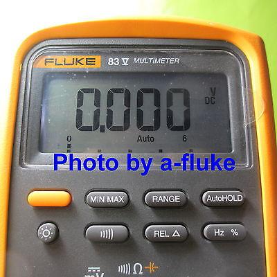 Fluke 83v 87v 88v Repair Kit For Fading Lcd Digital Display All Series 5 Dmm