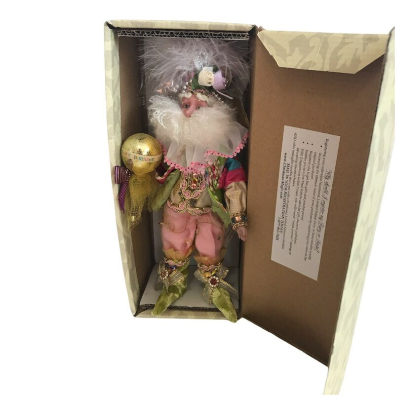 Mark Roberts Happy Birthday Fairy,  No.51-67454 Birthday Celebration With Stand