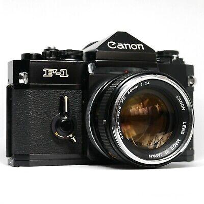 :Canon F-1 F1 Classic 35mm Film SLR Camera w/ FD 50mm f1.4 Lens [MINT-]