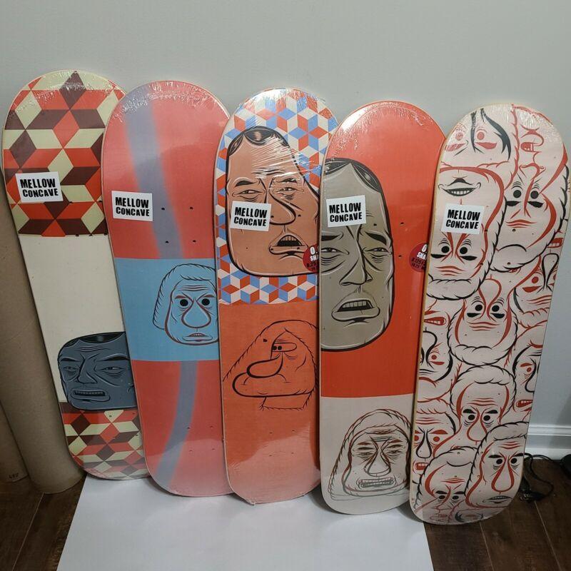 Barry McGee x Baker Skateboards Mint FULL SET In Plastic