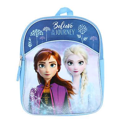 Disney Girls/' Frozen Anna Standing Plush Backpack Pink//Blue