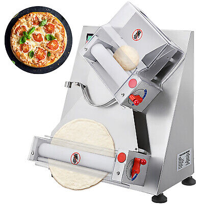 Vevor Electric Pizza Dough Roller Sheeter 4-12 Pastry Press Making Machine