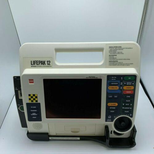LifePak 12 Biphasic, Pacing, AED, 12 Lead, SPO2, CO2 - Refurbished