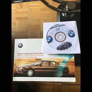 BMW Owners Manual and disc
