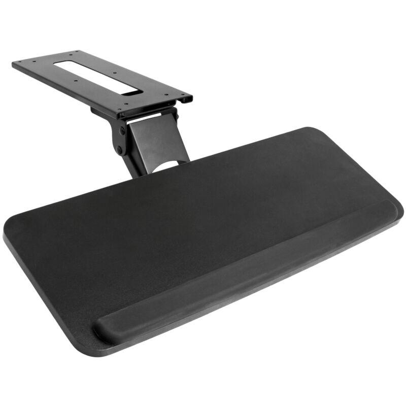 Used VIVO Adjusta Computer Keyboard & Mouse Platform Tray Under Table Desk Mount