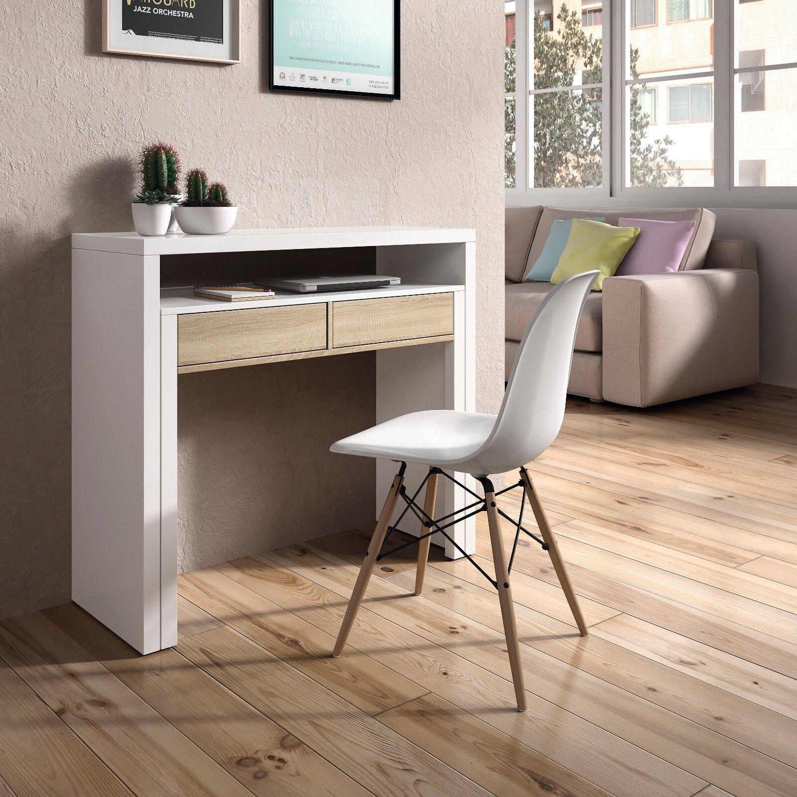 Mesa consola escritorio mesa extensible mesa para - Mobile per computer a scomparsa ...
