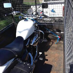 TRAILERS FOR HIRE-MOTORBIKES, HARLEY'S, CAMPING & GEN PURPOSE. Roselands Canterbury Area Preview