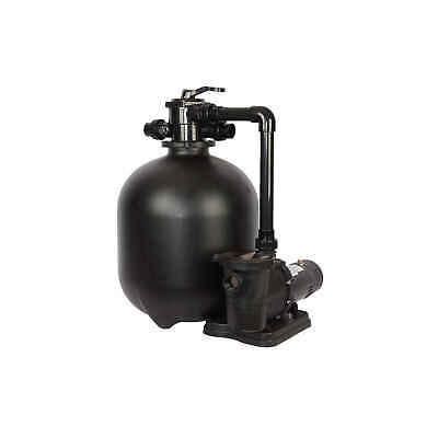 Sand Filter System for In-Ground Pools   1.5HP, 22-in 300-lb Vol by FlowXtreme