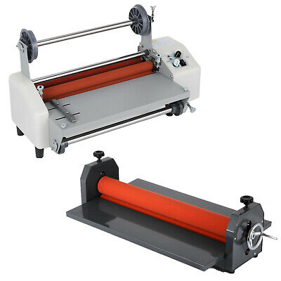 Roll 13--51in Manual Cold Laminator Roll Mount Laminating Machine