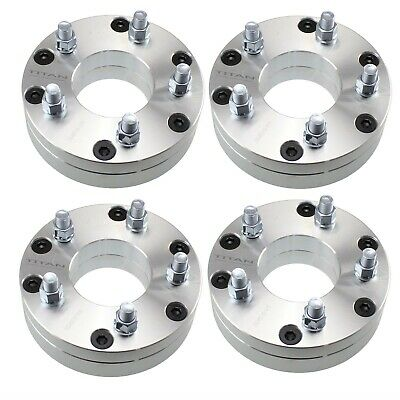 "4pcs 2"" Wheel Adapters | 6x5.5 to 5x5 Spacer | 5 lug wheels onto a 6 lug truck"