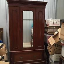 Beautiful Antique Cedar Wardrobe with Mirror. Rosebud West Mornington Peninsula Preview