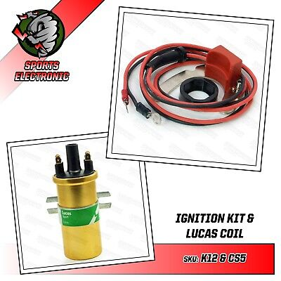 Escort RS 2000 Escort Mexico MKII Electronic Ignition & Lucas DLB105 Gold Coil