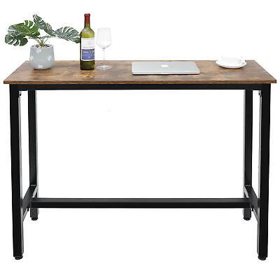 "Kitchen Dining Bar Table 47"" Rectangular Coffee Table for Livingroom Diningroom"