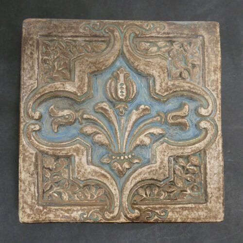 Batchelder California Tile Floral Motif