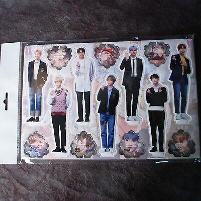 K-POP BTS Bangtan Boys Photo Standing Paper Doll KPOP Star BTS Bangtanboy