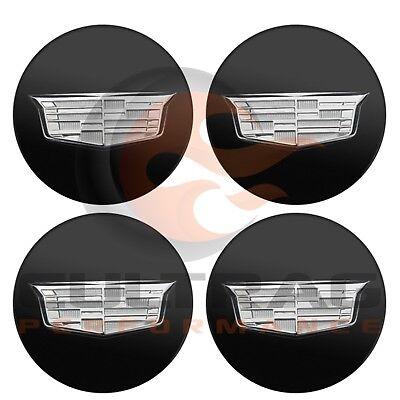2015-2019 Cadillac Escalade Genuine GM Gloss Black Center Cap Set Of 4 19333201