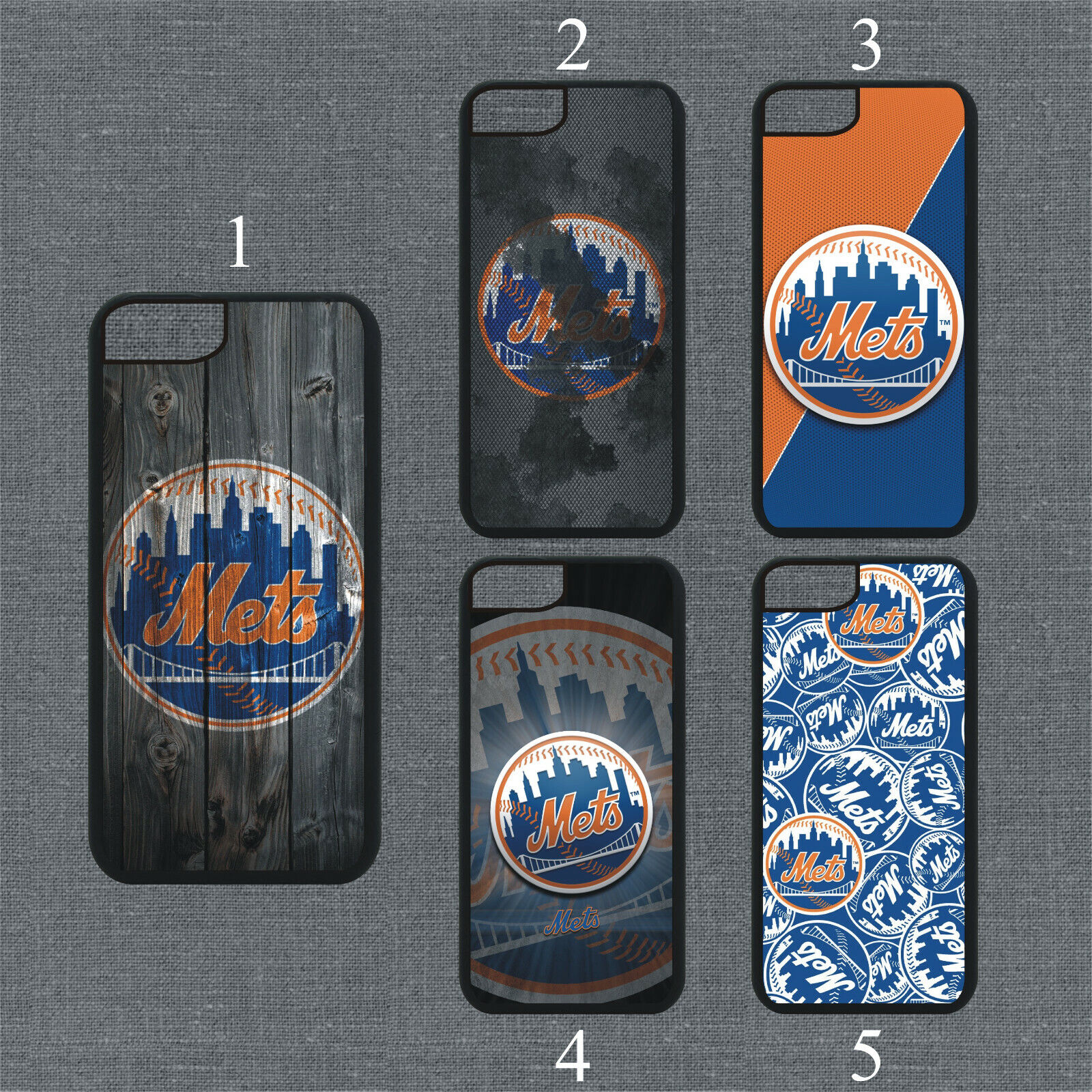 New York Mets Phone Case For iPhone 11 Pro X XS Max 8+ 7 6 P