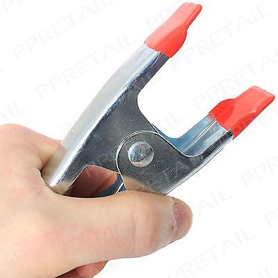 "LARGE METAL 150mm/6"" SPRING CLAMP HEAVY DUTY Tarpaulin Market Stall Grip Clip"