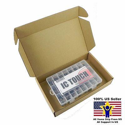 24value 400pcs Polyester Film Capacitors Box Kit 100v 5 Us Seller Kitb0053