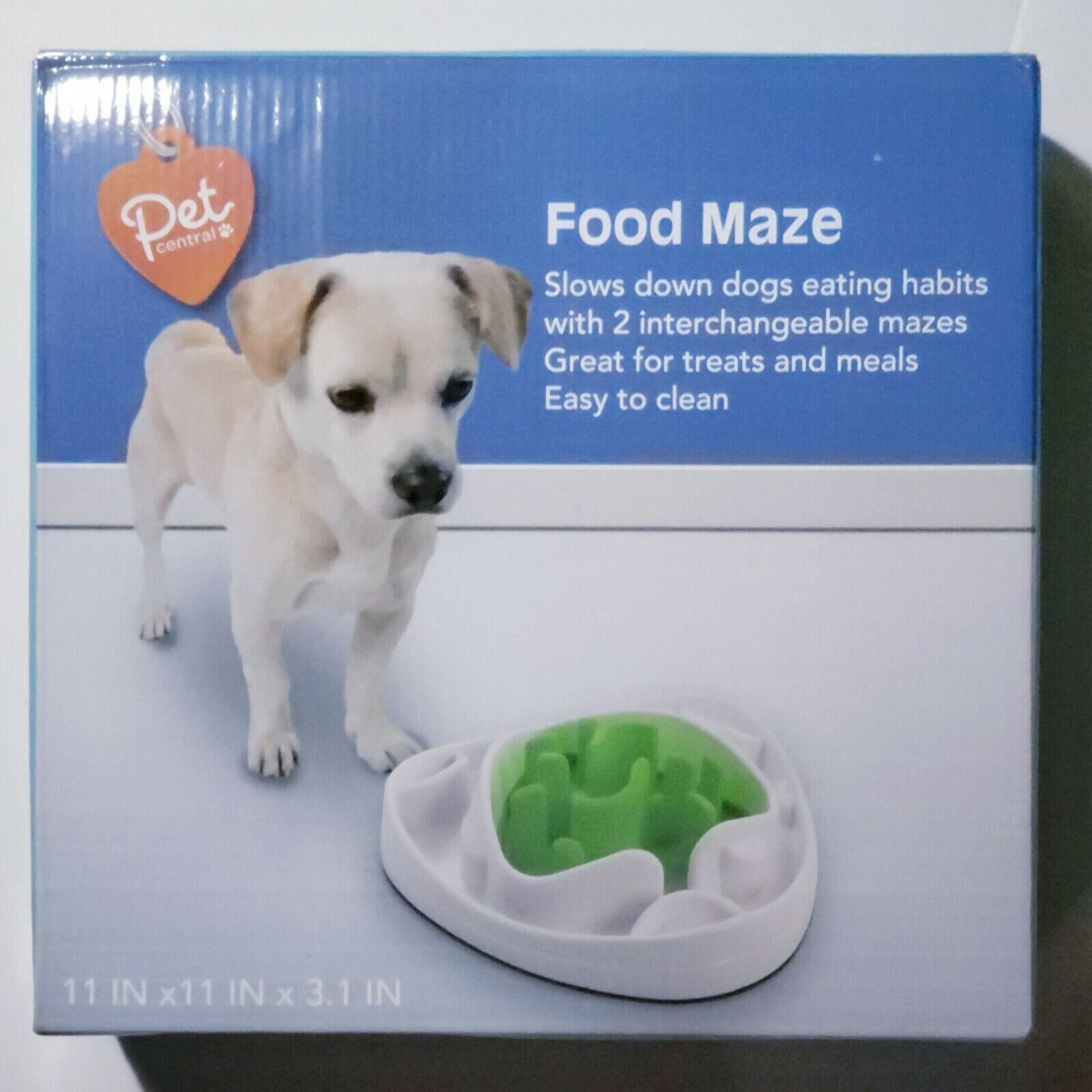 New Pet Central Feeding Maze - slow your pets eating - Two Food Mazes Easy Clean