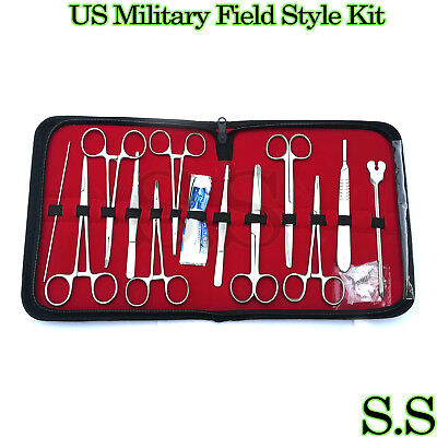 12 Sets 24 Us Military Field Style Medic Instrument Kit -medical Surgical Ds-888