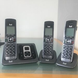 Cordless 3 Set Phone with answering system