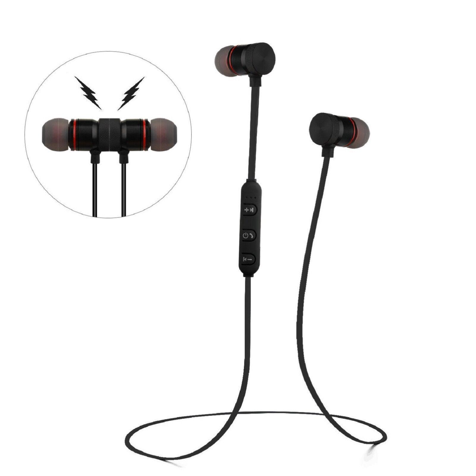 Sweatproof Bluetooth Earbuds Sports Wireless Headphones Ear Headsets Earphones