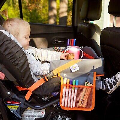 Kids Car Seat Travel Tray - Traveling Toddler Lap Table - Toddlers Trays  Car Seat Tray Table