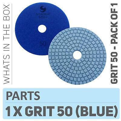 Diamond Polishing Pads 4 Wetdry Granite Tile Marble Concrete Stone Grit 50
