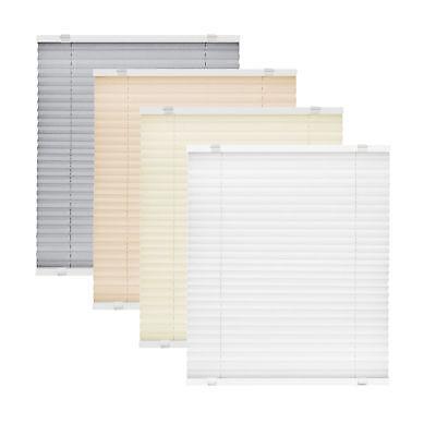 Klemmfix Plissee Faltrollo ohne Bohren Fenster Tür Plisseerollo Plisee Easyfix