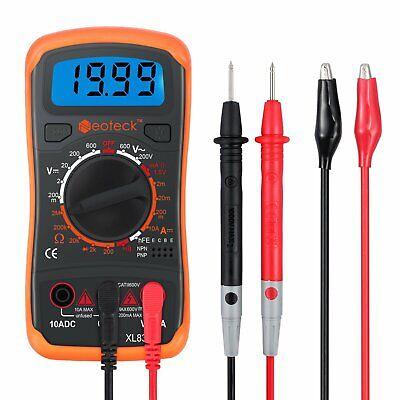 Digital Multimeter Fluke Meter Dc Rms Volt Tester Ohm Ac Neoteck Genuine Pocket