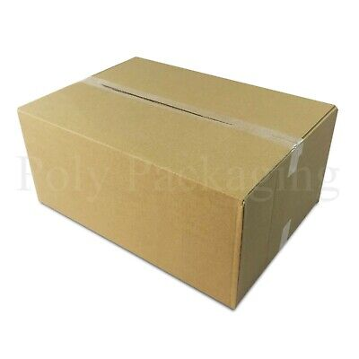 500 x Maximum Size DEEP ROYAL MAIL SMALL PARCEL 349x249x159mm Postal Boxes