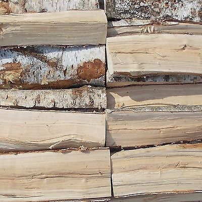 30 Kg Birke - Brennholz Kaminholz Feuerholz Lagerfeuer Holz FRISCH / VORGELAGERT