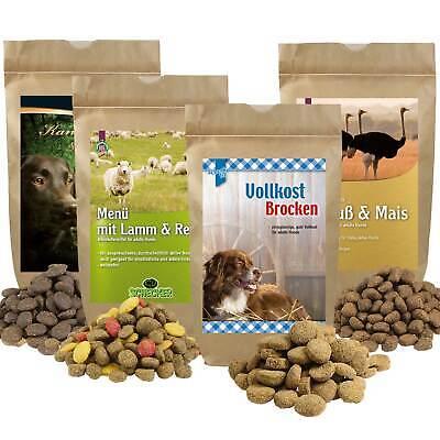 Trockenfutter Futter Testpaket 4x400g f.d.norm. ausgewachsenen Hund Hundefutter