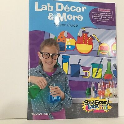 VBS 2015 SonSpark Labs Lab Decor & More Theme Guide Reproducible Free - Vbs Decoration