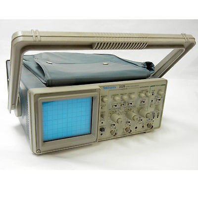 Tektronix 2225 50mhz Analog Oscilloscope For Parts Or Repair Excellent Crt