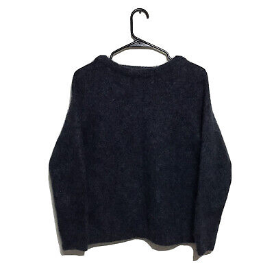 Acne Studios Dramatic Mohair-Blend Sweater Size S