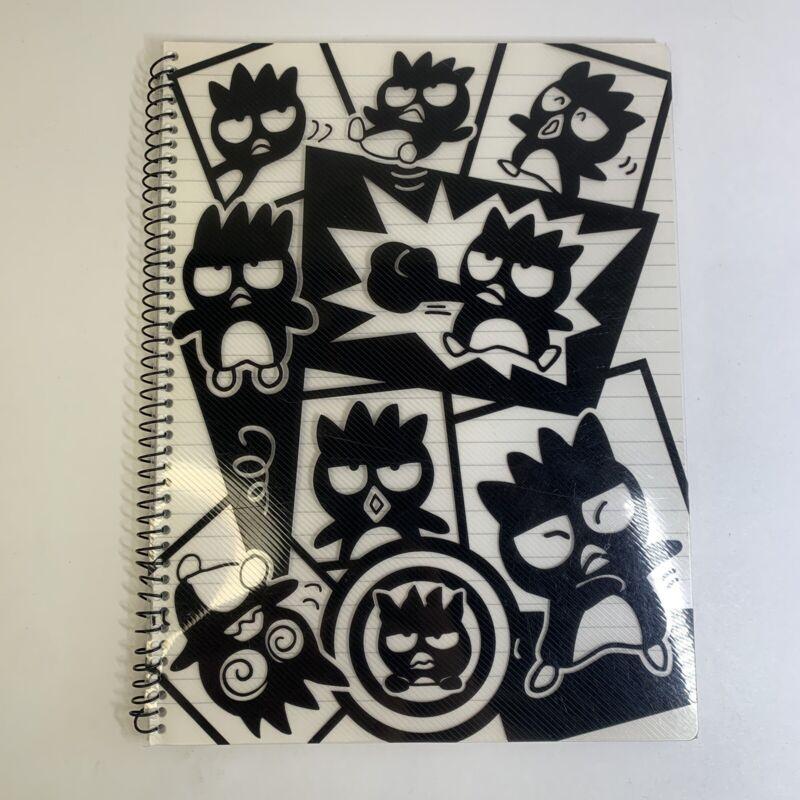 Vintage Sanrio Badtz Maru Spiral Notebook 1996