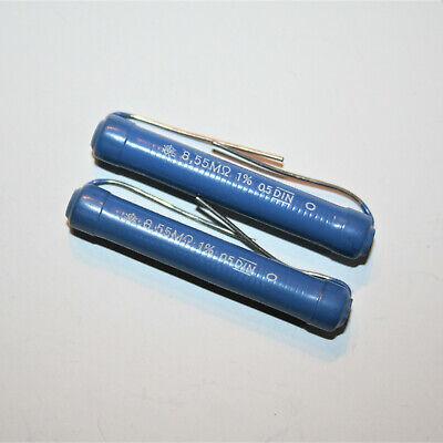 1/% Tol. 9 x vintage Hochohm- Draht- Widerstand 3 MOhm nicht magnetisch