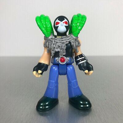 Imaginext DC Super Friends BANE figure w/blue motorcycle pants & chains