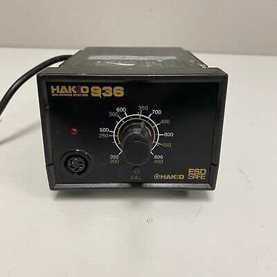 Hakko 936 Soldering Station Only Tested And Working