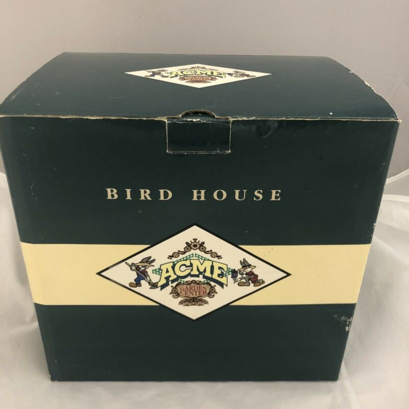 Rare Sylvester The Cat Bird House- Acme Garden Center