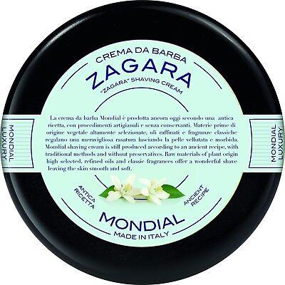 MONDIAL Rasiercreme ZAGARA Orangenblüte Plexi Bowl 150ml shaving cream ITALIEN - Shaving Cream Bowl
