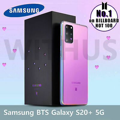 Samsung Galaxy S20 Plus+ BTS Limited Edition Factory Unlocked 5G 256GB SM-G986.