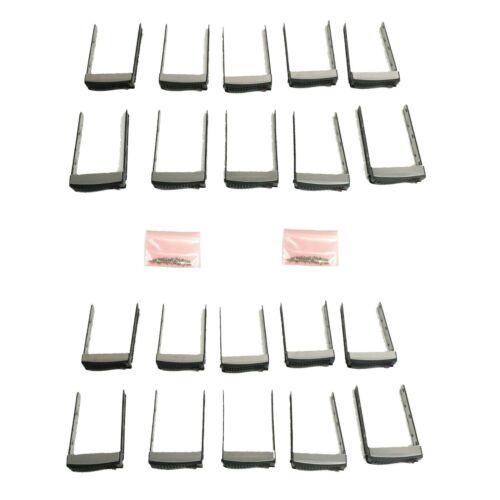 Lot of 20 SuperMicro 01-SC93301-XX00C003 3.5 Inch Hard Drive Disk Caddy w/ Screw